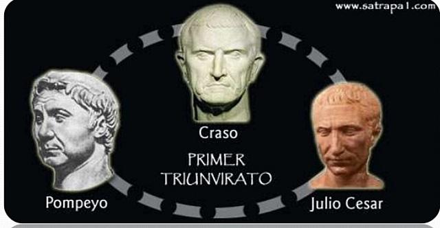 Primer triunvirato de Pompeyo, Craso y César