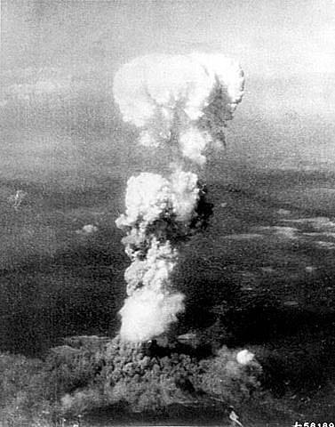 Fat Man Dropped on Nagasaki