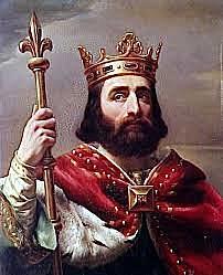 Karl den store krones til keiser av paven i Roma