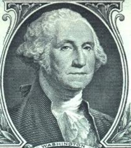 Election - George Washington is elected president