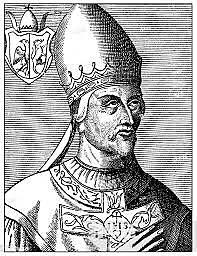 Gregor VII blir valgt til pave. Investiturstriden innledes