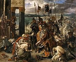 Korsfarerne inntar Konstantinopel