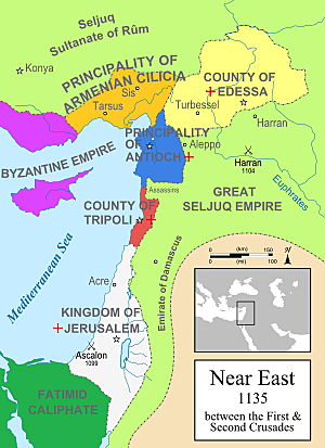 De siste korsfarerstatene i Midtøsten oppgis