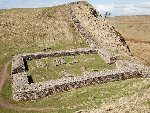 Hadrian Wall is built