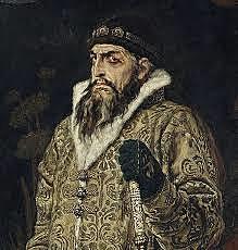 Ivan IV den grusomme blir Tsar av Russland