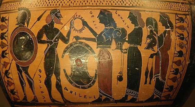 The Trojan war and the destruction of Troy
