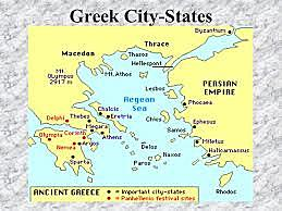 Formation of Greek city-states