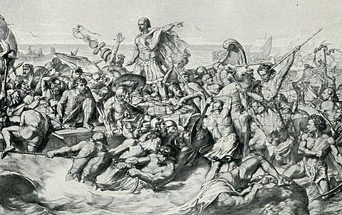 Invasion of Romans