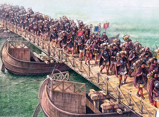 Greeks create a strong water based military
