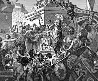 Second of the Peloponnesian Wars between Sparta and Athens