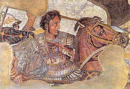 Alexander the Great came into power