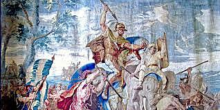 Alexander defeats Persia and Egypt