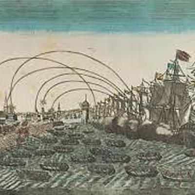 Oppdagelser, kolonier, slavehandel (1400-1750) timeline