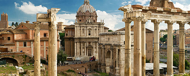 The end of the Western Roman Empire and the fall of Ancient Rome.
