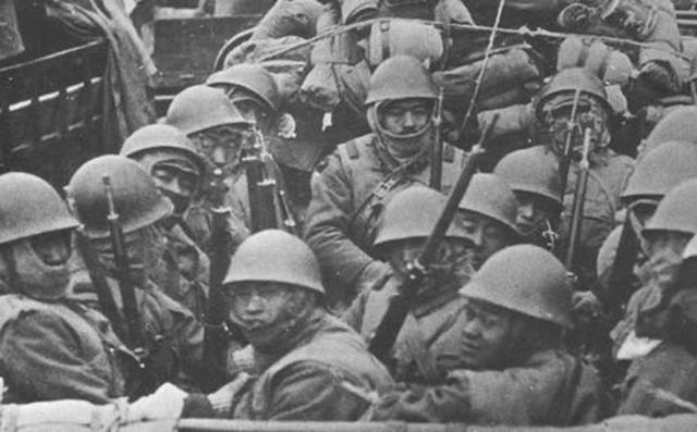 japanese invasion of Manchuria