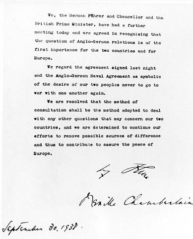 munich agreement, sudetenland to germany