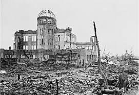 """A message to Vice Chief of the Imperial Army General Staff Torashiro Kawabe reports: """"The whole city of Hiroshima was destroyed instantly by a single bomb."""