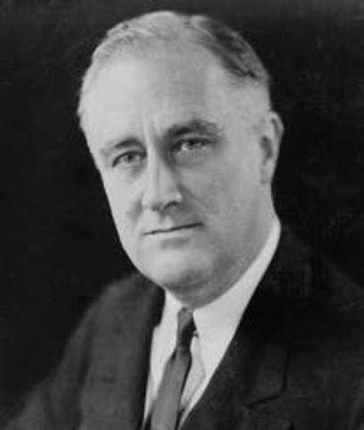 Roosevelt gains office