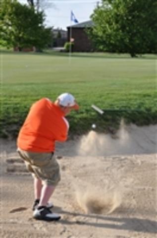 Hace un ano que jugar de golf