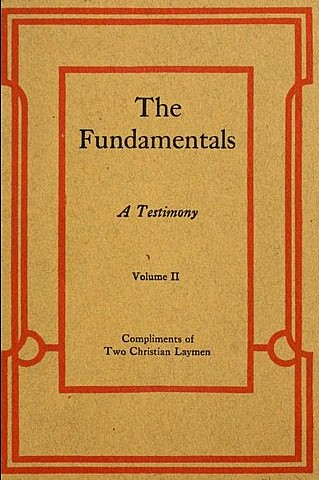 """The last of the """"The Fundamentals"""" was published."""