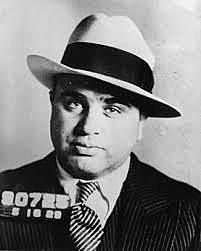 Al Capone was arrested.