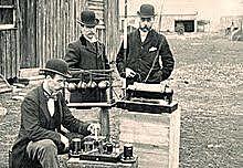 1st Radio Broadcast