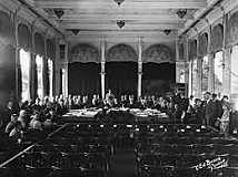 The Senate Rejects the League of Nations.