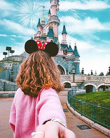 Disneyland Paris avec ma famille