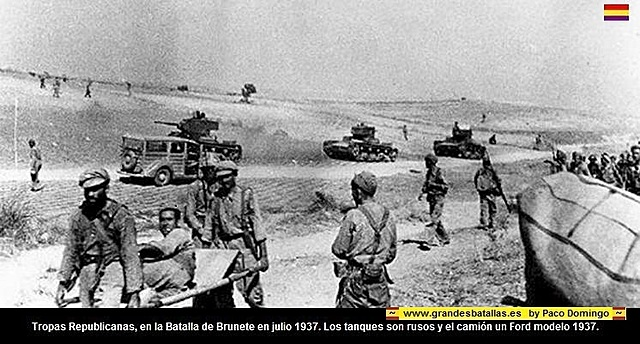 Comença la Batalla de Brunete.