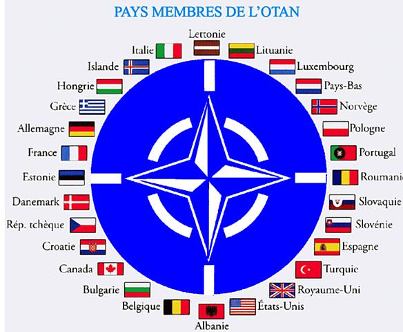 França retirada de l'estructura militar de l'OTAN, encara que se mante en l'aliança