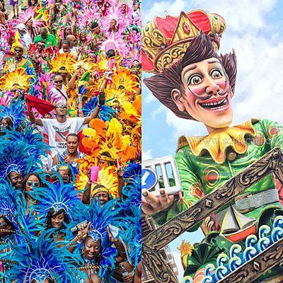 Un Carnevale tra due Nazioni  timeline