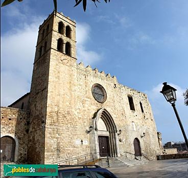 Sant Cugat cedeix l'església de Santa Maria