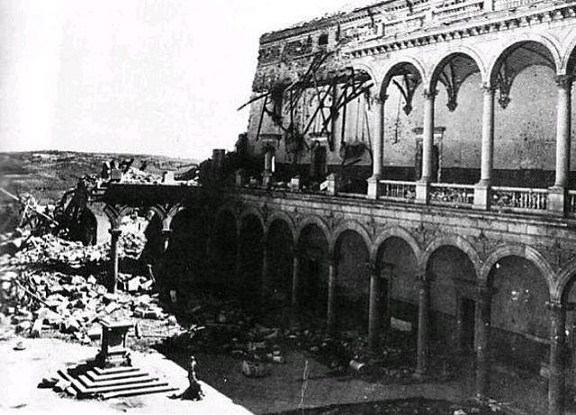 Toma del Alcázar de Toledo