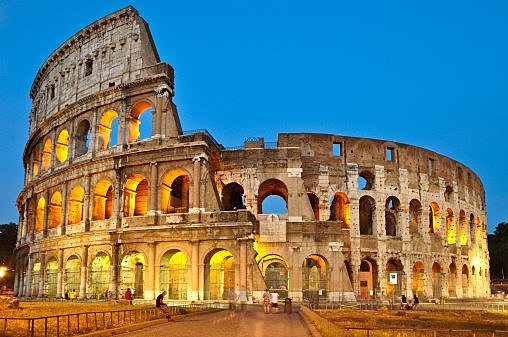 The coloseum is built