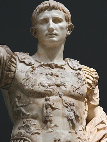 Agustus reintroduces maonarchy to Rome