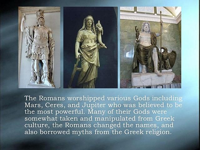 roman belifes