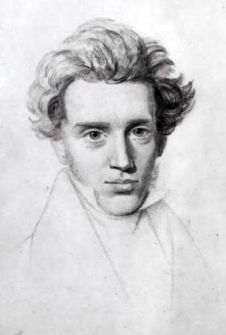 Soren Kierkegaard (1813 %u2013 1855)