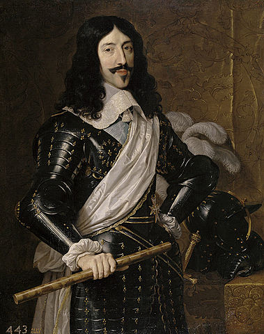 King Louis XIII ascends to the throne