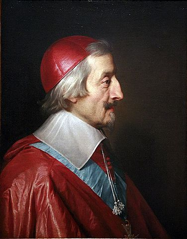 Cardinal Richelieu becomes chief minister of France