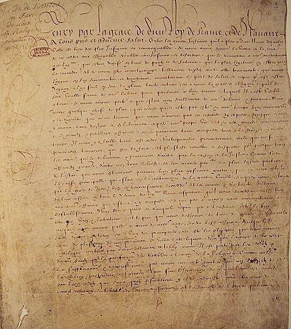 Edict of Fontainebleau