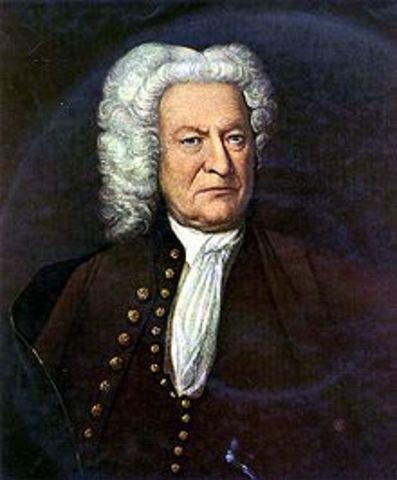 Bach write his last work.