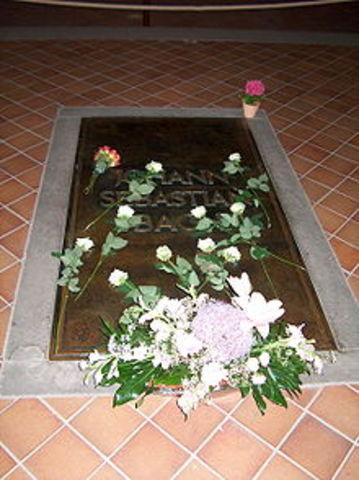 Bach die on 28 July 1750