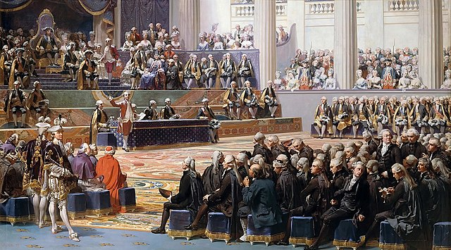 1789 Meeting of the Estates General