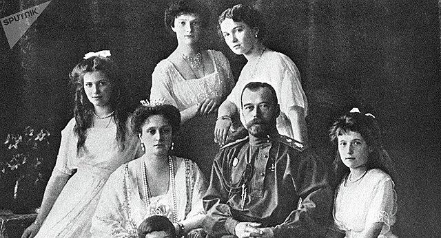 Ejecutan al zar Nicolás II y a su familia