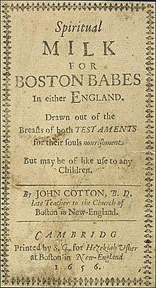Spiritual Milk for Boston Babes