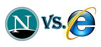 La primera guerra de los navegadores: Internet Explorer / Netscape