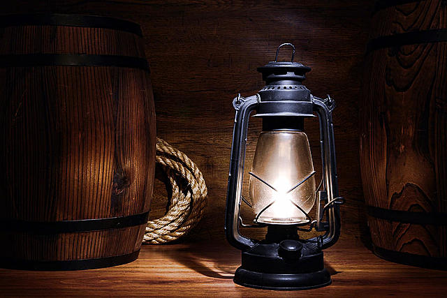 lampara de gas