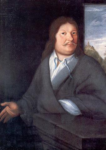 Johann Ambrosius Bach died