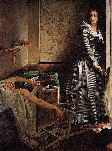 Asesinato de Marat.