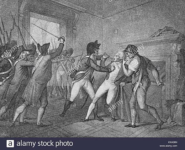 Arrestan a Robespierre.